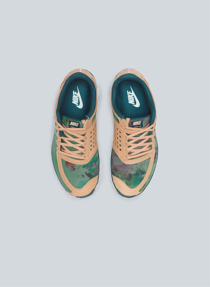 Nike Free 5.0 Liberty. http://www.dazeddigital.com/fashion/article/16094/1/christopher-raeburn-on-camouflage this pair is nice:)
