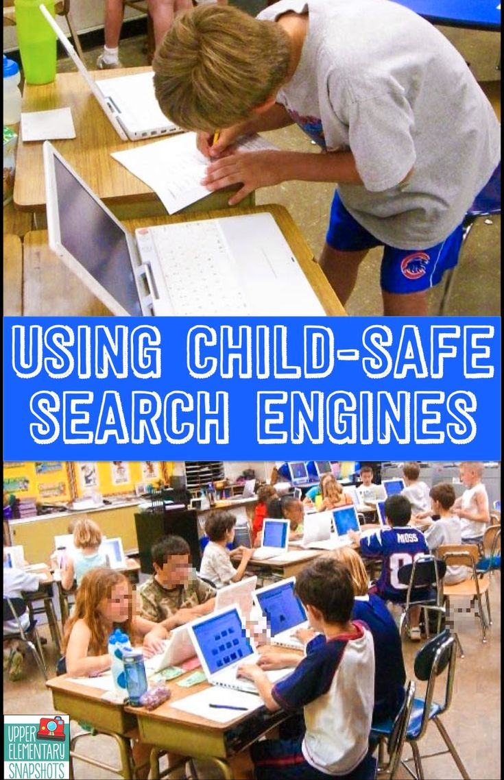 Using Child Safe Search Engines- if you have students use computers to research you'll want to check this out!