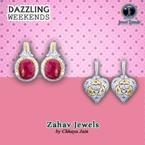 The Valentine collection by Zahav Jewels is inspired from the Baroque Roman architecture motifs like laces, bows, frills etc. | #jewelrydesigns #magazine