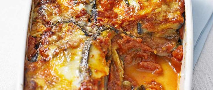 This delicious vegetarian bake with aubergine is ideal for a family meal midweek.