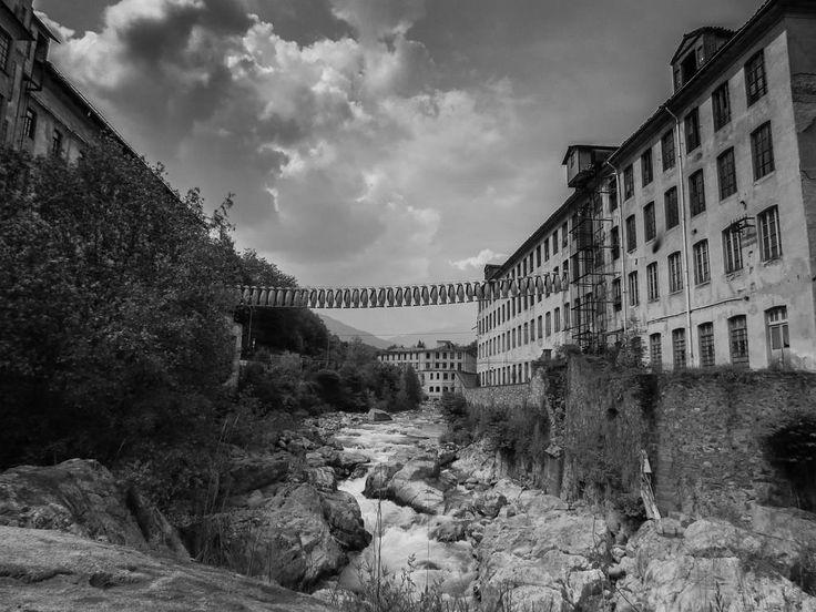 Biella, torrente Cervo dal Ponte della Maddalena