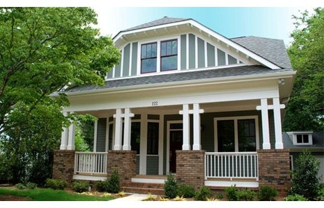 18 best images about arts and crafts bungalows greenville for Cottage style homes greenville sc
