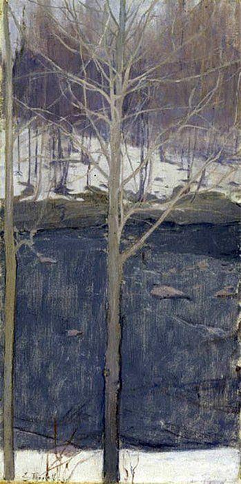Ellen Thesleff (1869 – 1954) #tree #art