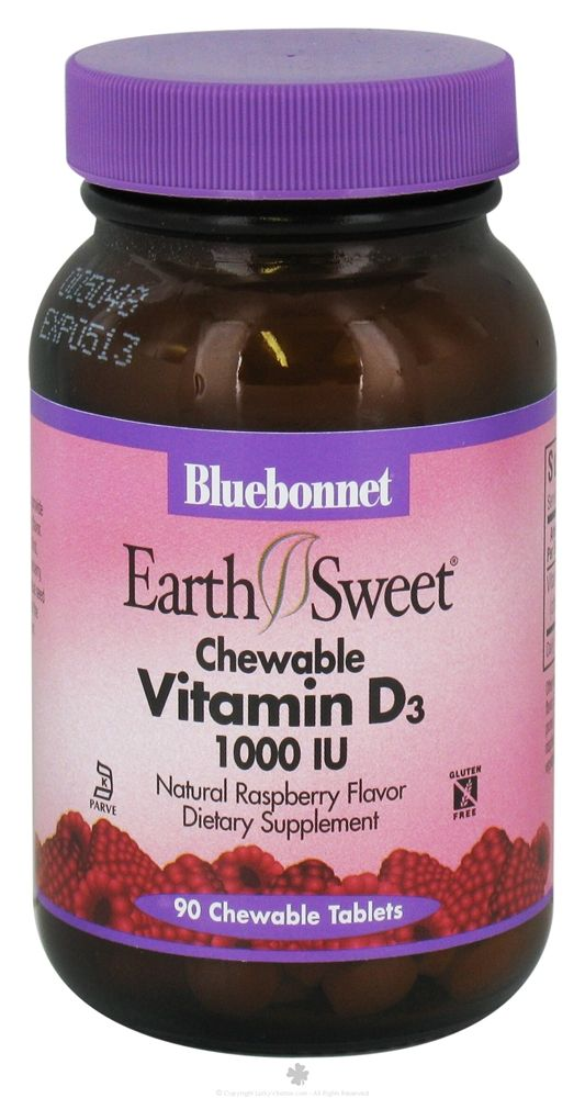 Chewable tablet that comes in 1000 or 2000 IU.  Good for older kids who need higher doses but can't swallow pills yet.