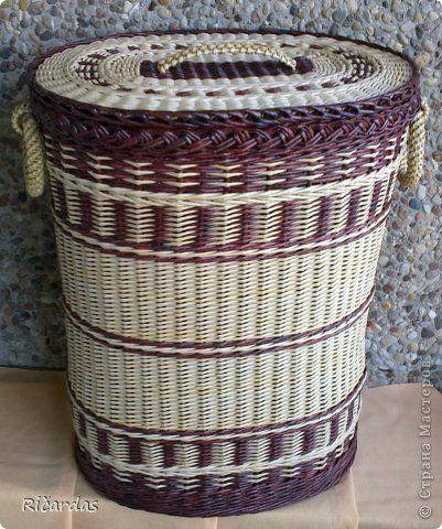 Поделка изделие Плетение Заказы заказы заказы  Бумага газетная Трубочки бумажные фото 7