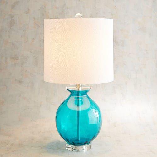 Lara Blue Table Lamp | Pier 1 Imports