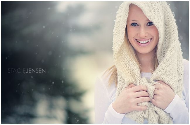 How to edit winter images, create creamy tones & add light source.