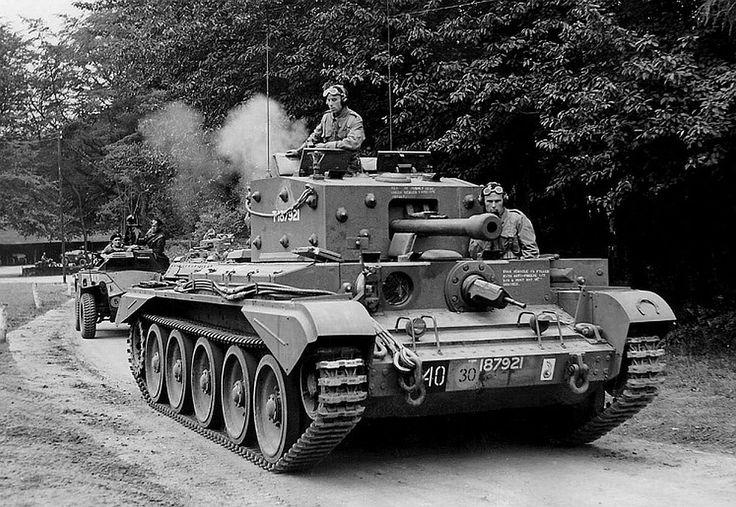 Cromwell, Polish 1st Armd Div, England