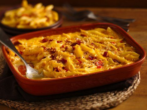 Easy Weeknight Bacon Mac and Cheese - Add flavors to your dinner table with this bacon, mac and cheese featuring pasta and Progresso™ Recipe Starters™ cheese sauce – ready in 30 minutes.
