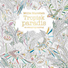 Glem alt omkring dig, og fordyb dig i dette løsslupne univers af farver og tegninger, mens du bringer liv i de eksotiske skabninger og planter i Millie Marottas Tropiske paradis