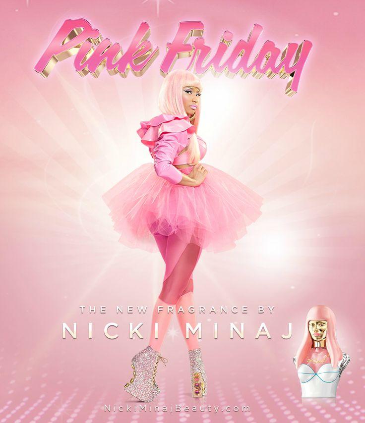 NIcki Minaj Pink Friday perfume