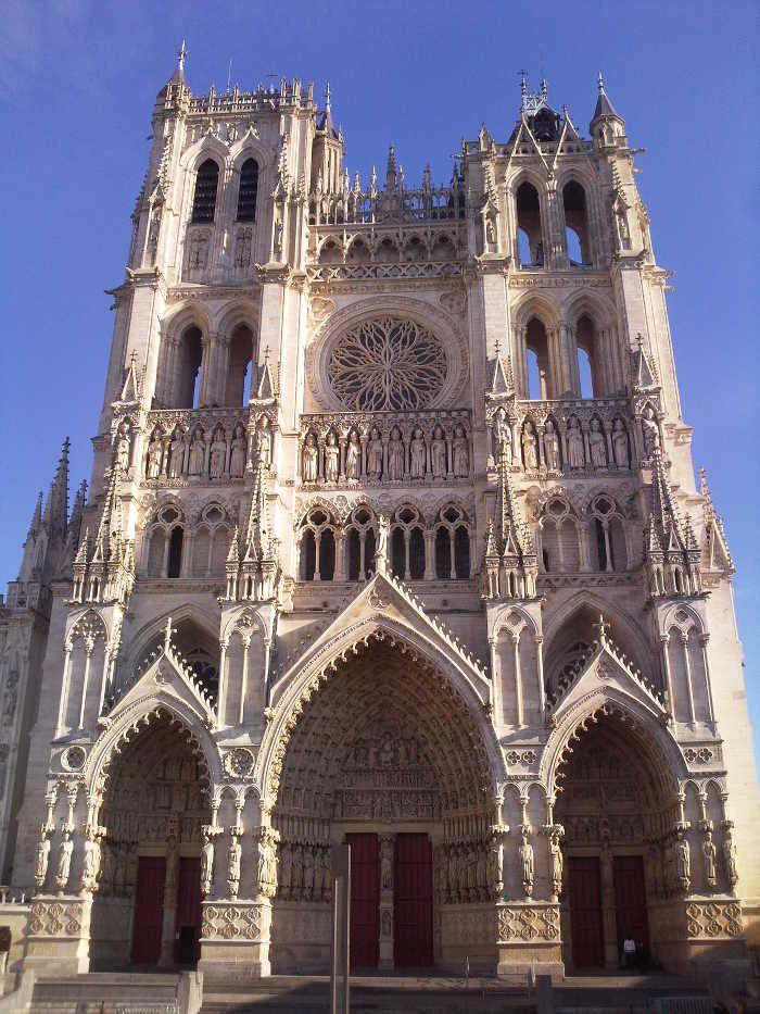 Cattedrale di Amiens, Francia
