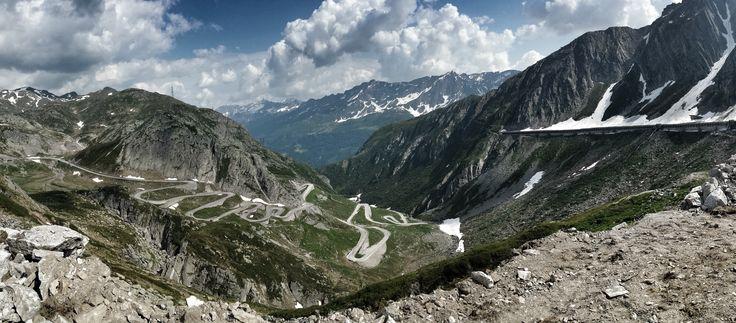Passo San Gottardo pass, Airolo, Switzerland