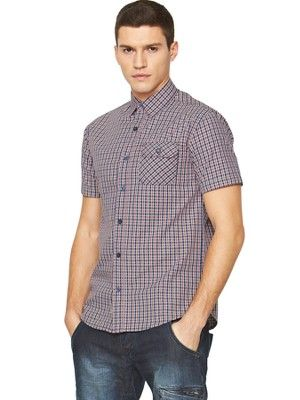 Mens Check Short Sleeve Shirt, http://www.very.co.uk/883-police-mens-check-short-sleeve-shirt/1330948746.prd