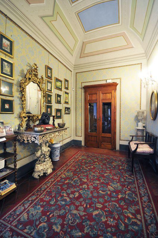 The entrance - Viti Palace, Volterra, Tuscany