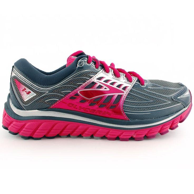 Tony Pryce Sports - Brooks Women's Glycerin 14 Running Shoe Grey   Intersport