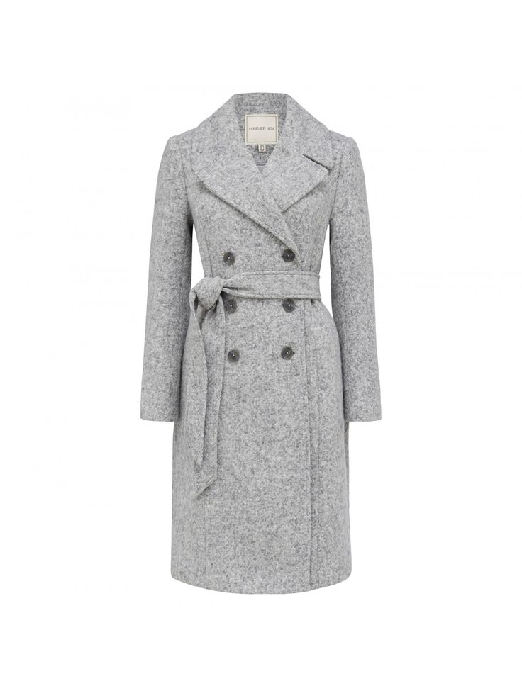Layer up in style with our Isla midi wrap coat, perfect to add a little polish to any ensemble.