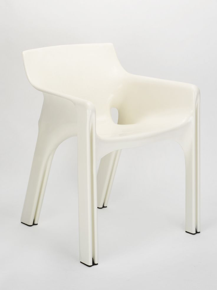 Vico Magistretti . Gaudi, 1970 - I think these have been reissued by Heller - would make a lovely carver with Selene chairs as sides chairs.