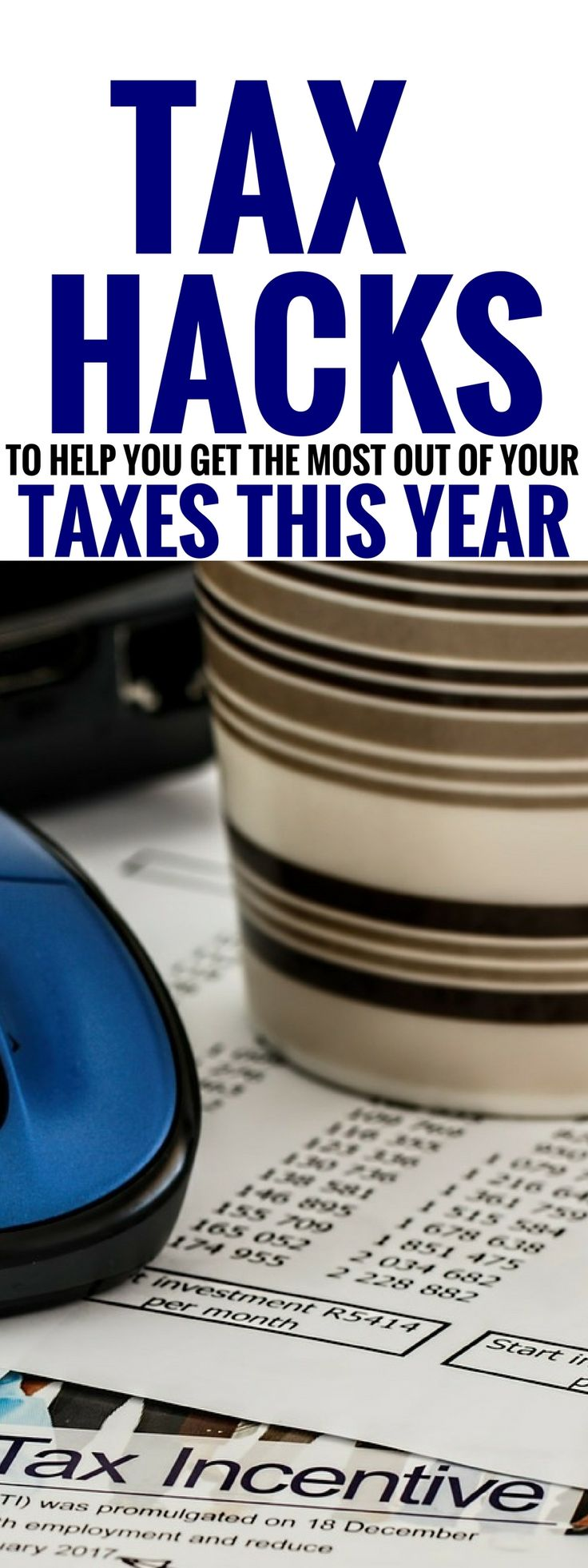 The amazing tax hacks are THE BEST! I'm so glad I learned about these tax tips, hacks and deductions for families that I would have otherwise overlooked when filing my taxes. Now I'm aware of some awesome tax deductions for tax season! Pinning this for sure! #taxday #money #moneytips