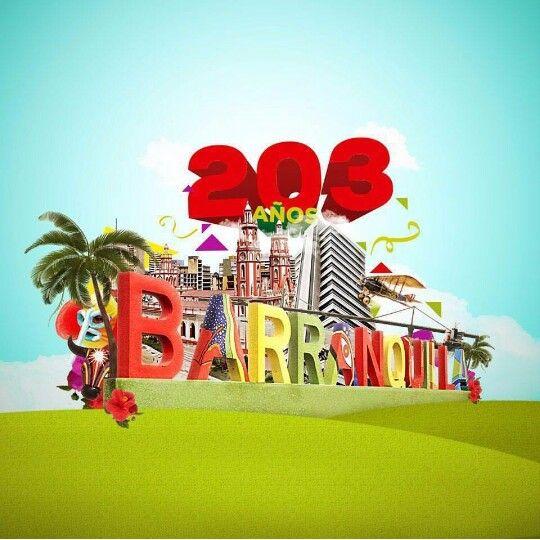 #Barranquilla203 #7abril #2016 felicidades en tu cumpleaños