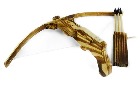 Small Crossbow | Includes Three Arrows and Quiver