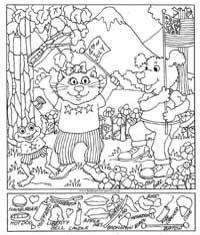 Free Printable Hidden Pictures for Kids at AllKidsNetwork.com