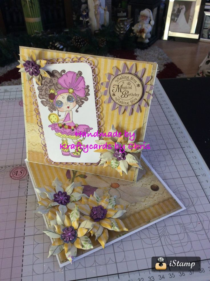 Kraftycards by Chris: Twisted Easel Bestie Card