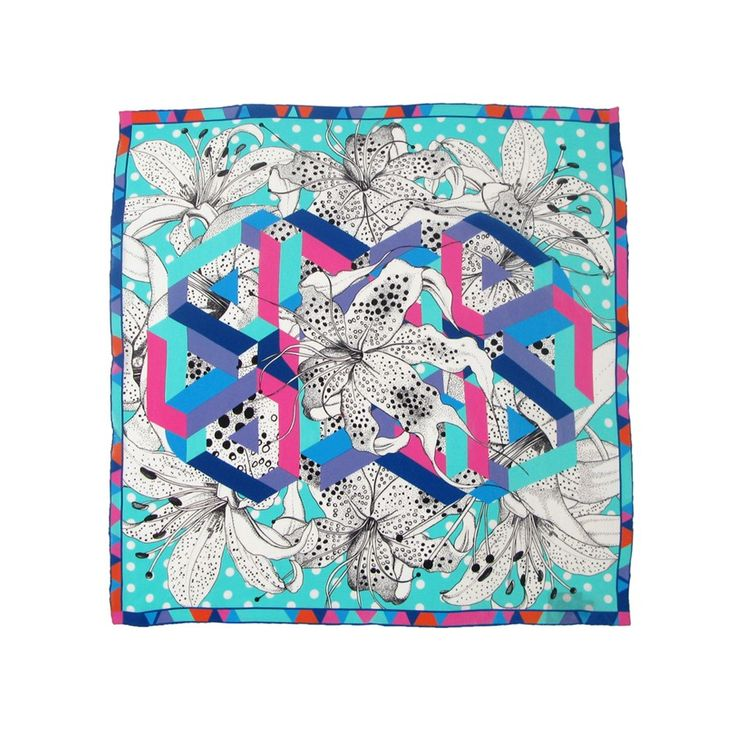 25 best scarf style images on Pinterest   Silk scarves, Scarf ...