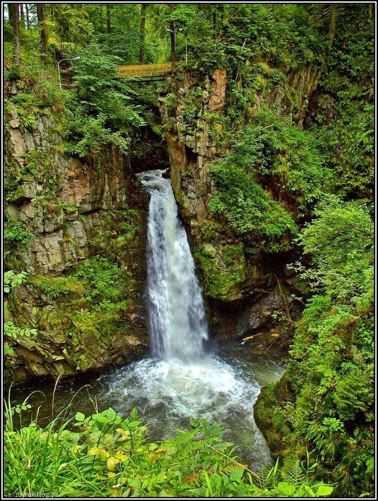Międzygórze Perła Sudetów Wodospad Wilczki