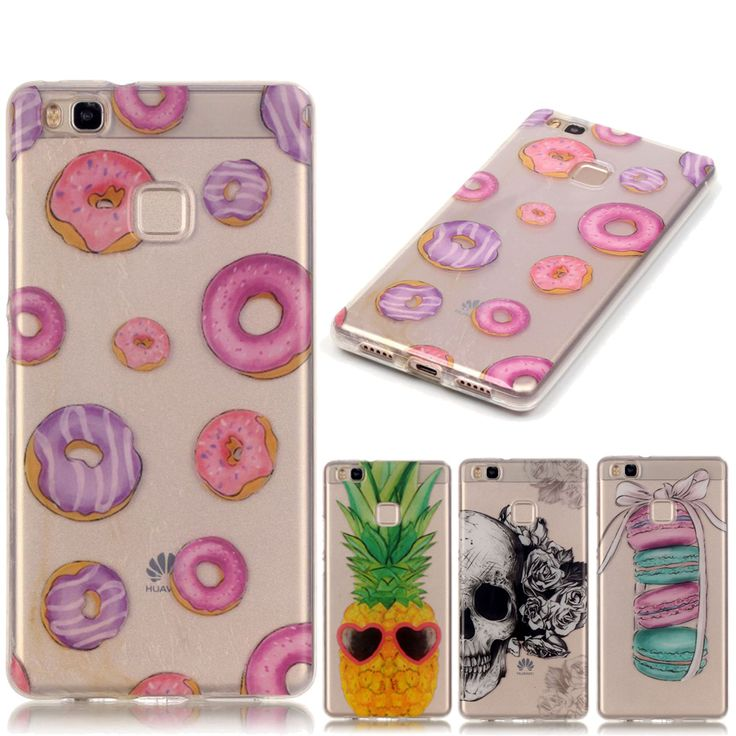 Slim Soft Silicone Case For Fundas Huawei P9 Lite case For Huawei P9 Lite P9Lite Transparent Clear Phone Skin TPU Cover Coque