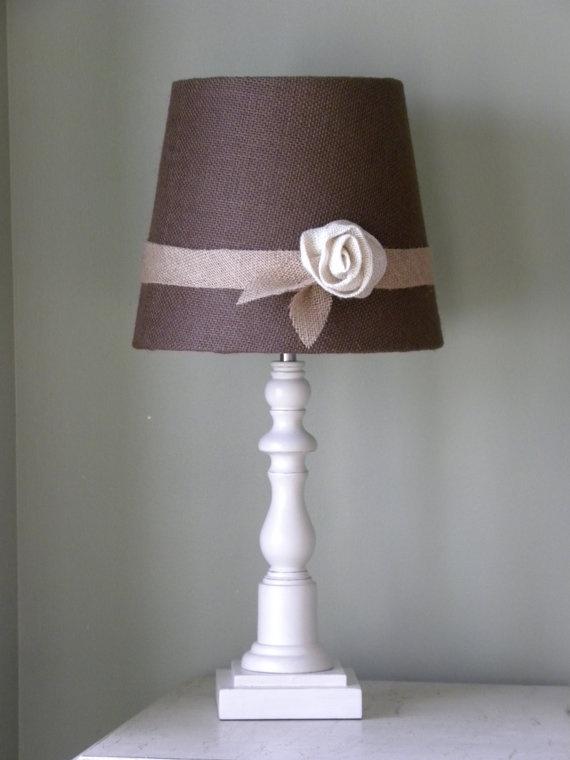 122 best Burlap Lamp Shades images on Pinterest | Burlap lamp ...