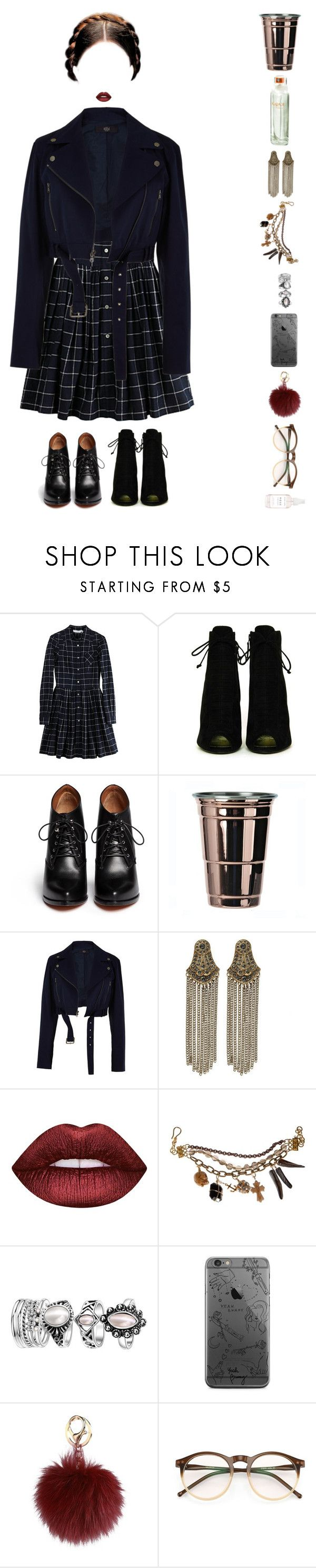 """LOLL"" by anaalsan ❤ liked on Polyvore featuring Opening Ceremony, Tom Ford, Givenchy, TIBI, River Island, Lime Crime, Wildfox and Herbivore"