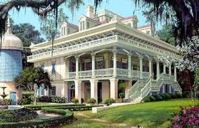 I'd love to go visit an old plantation, even if it looked more like the Haunted Mansion and less like Gone with the Wind.