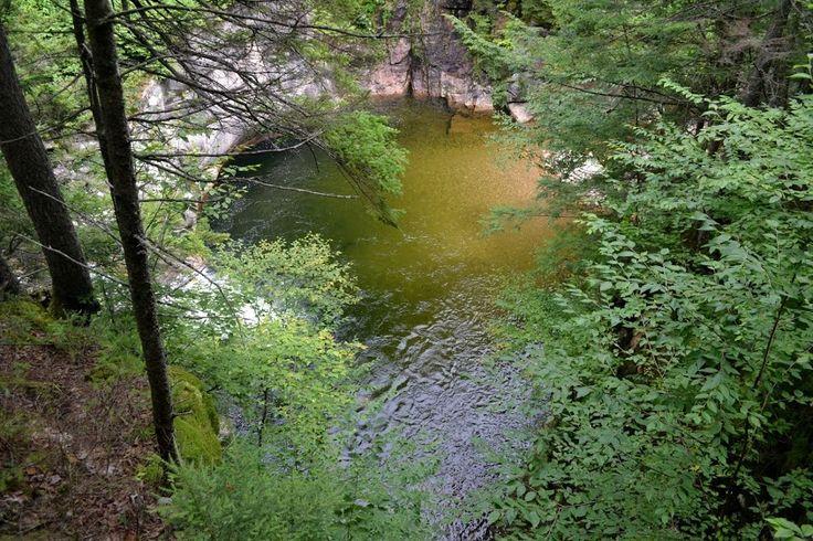 Flume Gorge, NH (Ущелье Флюм, Нью-Гэмпшир)