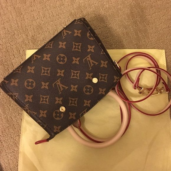 Montaigne BB style New NOT OF LISTED BRAND. LV Montaigne BB style shoulder bag. Super adorable style bag. Please don't ask the obvious! Price explains. :) Louis Vuitton Bags Crossbody Bags