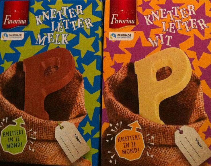 Chocoladeletters doosjes
