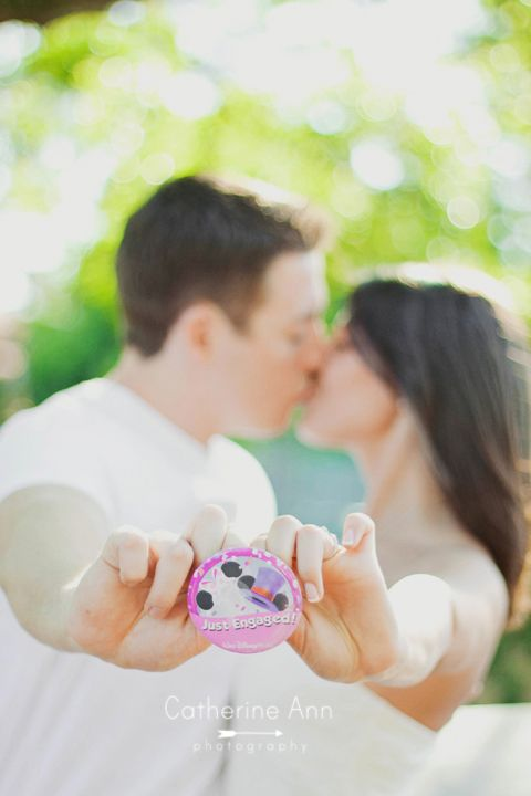 cute Disney World engagement session photo by Catherine Ann Photography (available for travel world wide)