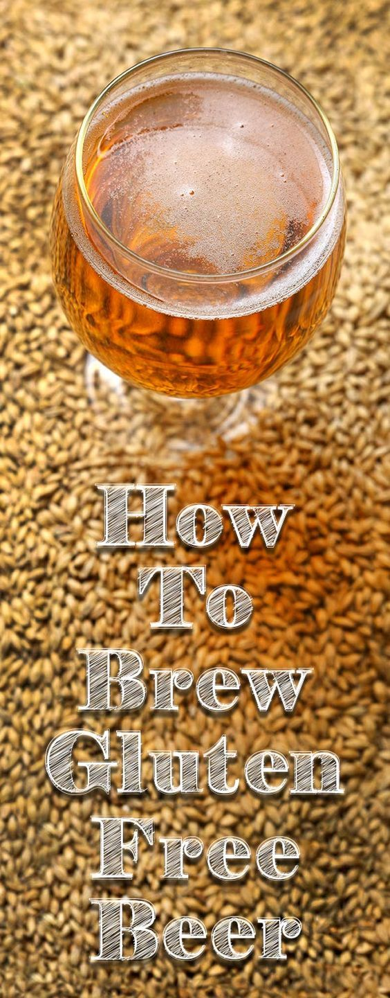 How to Brew Gluten-Free Beer