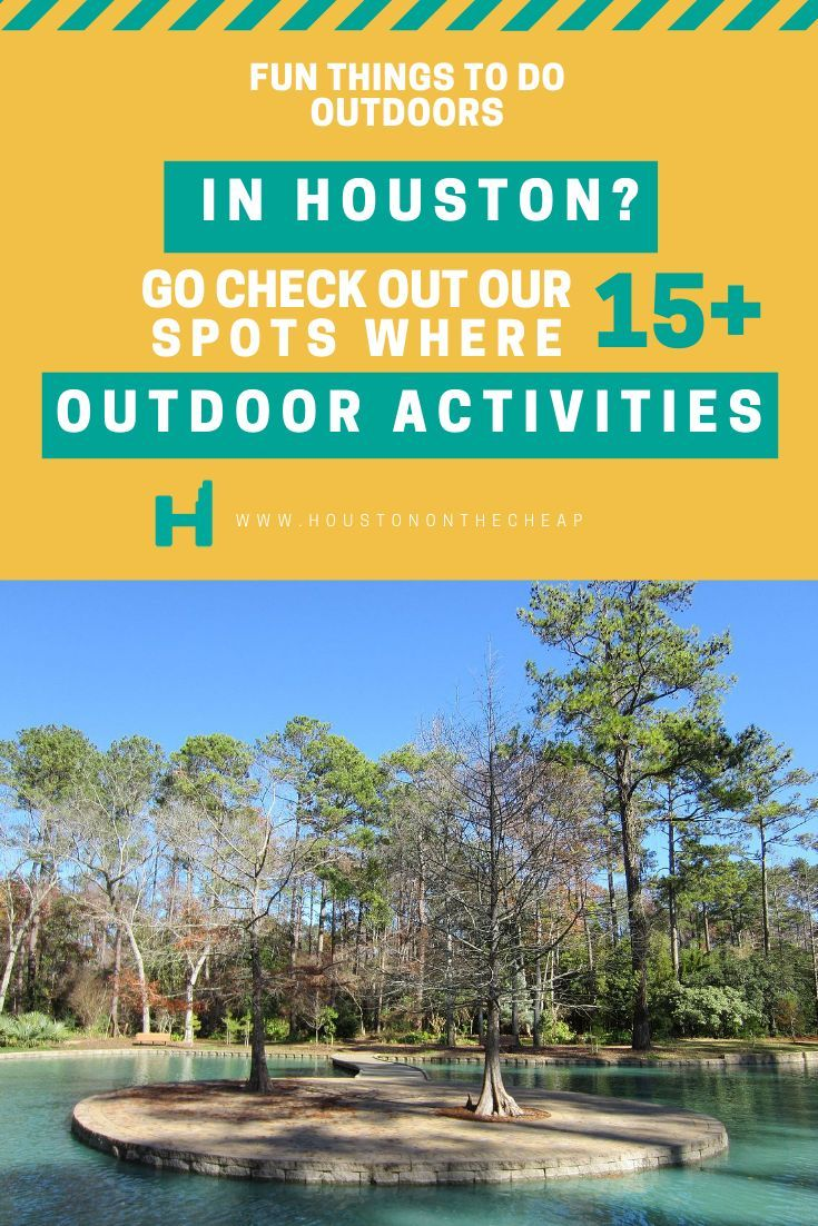 Houston Is No Stranger To Green Spaces And With Many Of Our