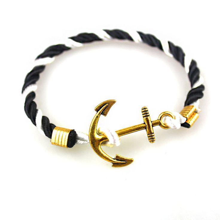 Armbänder-Segler mit Anker und Haken. Wo billig kaufen?, lernen Sie einige Armbänder, die mehr Mode für Männer und Frauen sind. #Armbänder #Zubehör #der #vonder #groß