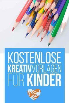 Kostenlose Kreativ-Vorlagen für Kinder – Steffi Bu