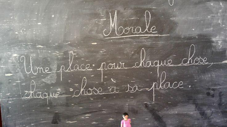 Petite leçon de morale made in Playmobil.