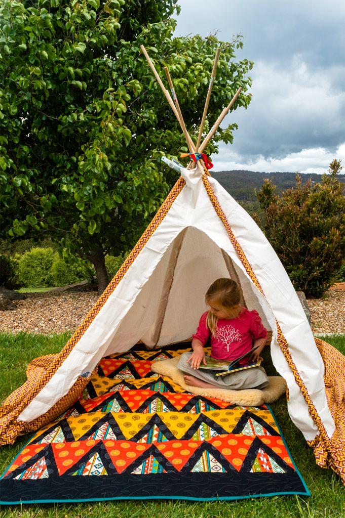 Teepee Pre Cut Quilt kit - Gorgeous!
