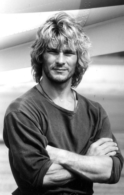 Patrick Swayze. Now look for Pavel Nedved pictures and spot the differences.