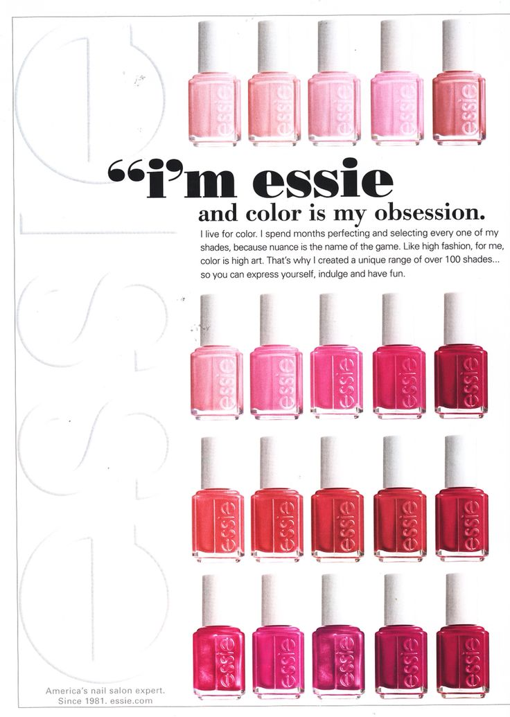 123 best I Love Essie Polish!! images on Pinterest | Essie polish ...