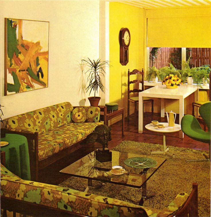 1000 images about vintage on pinterest retro dressers for 1970s living room interior design