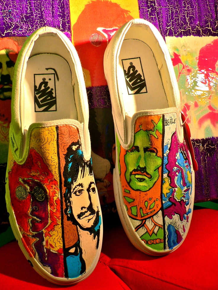Beatles Tennis Shoes