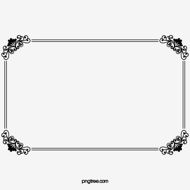 Frame Clipart Black And White Lace Corner Quadrilateral Black White Lace Corner Frame Border Design Frame Clipart Frame