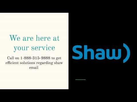 Shaw Email Customer service phone number | Support | Helpline