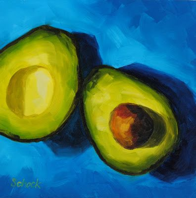 35 Best Avocado Paintings Images On Pinterest Avocado Fruit And Oil On Canvas
